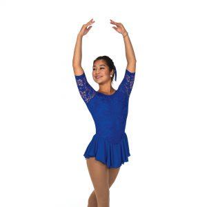 Blue Skating Dress