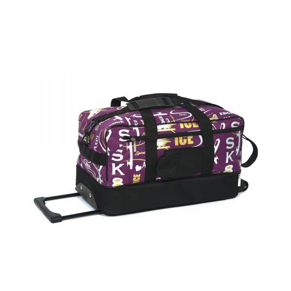 Jerry's Skating World Skate Bag on wheels