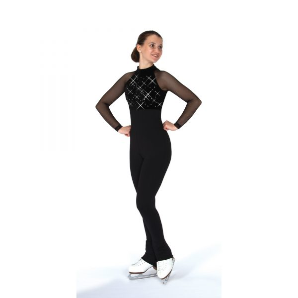 A figure Skating 1-Piece Catsuit by Jerry's Skating World