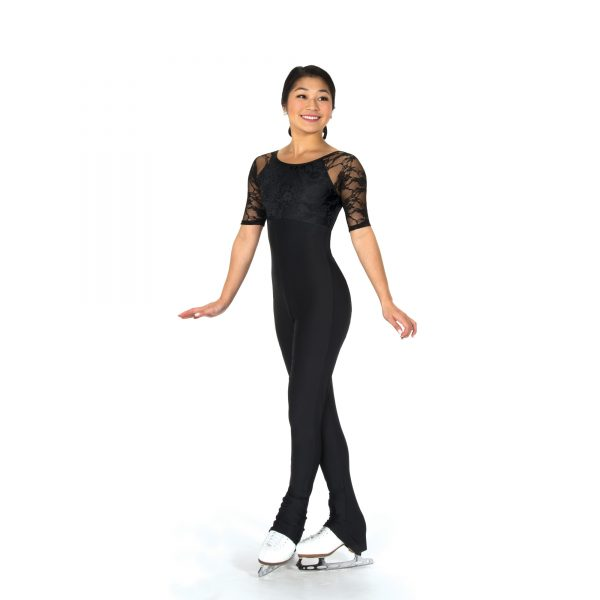A figure Skating 1-Piece Unitard by Jerry's Skating World
