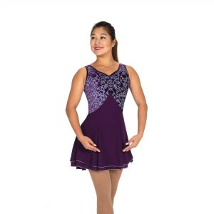 Deep Purple Skating Dress