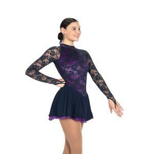 Blue Lace Skating Dress