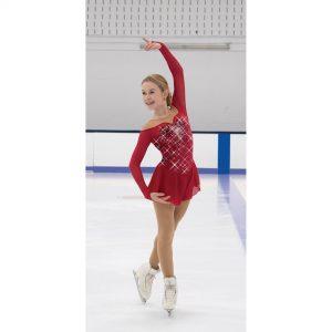 Ruby Resonance Dress