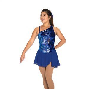 royal blue skating dress
