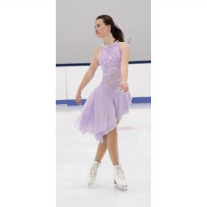 Sidestep Dance Dress – Icy Lilac