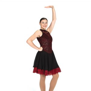 a figure skating dance dress
