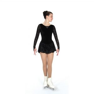A figure Skating Dress by Jerry's Skating World