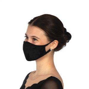 Solid Sport Mask Black